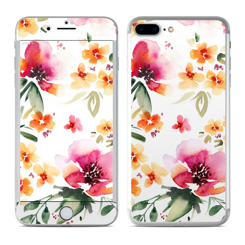 Fresh Flowers iPhone 7 Plus Skin