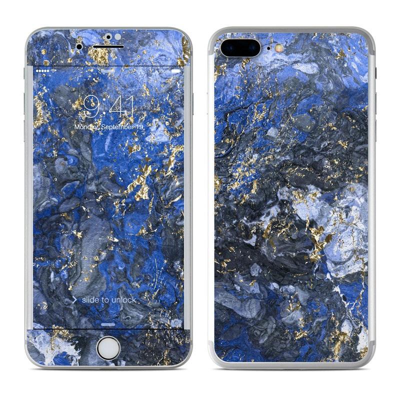 Gilded Ocean Marble iPhone 7 Plus Skin