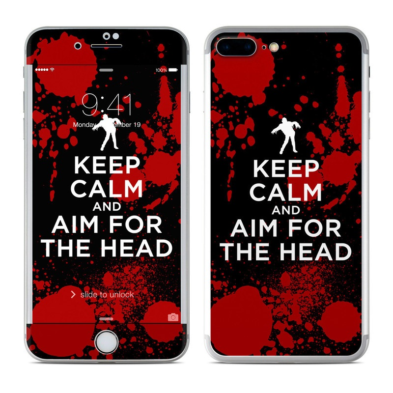 Keep Calm - Zombie iPhone 7 Plus Skin