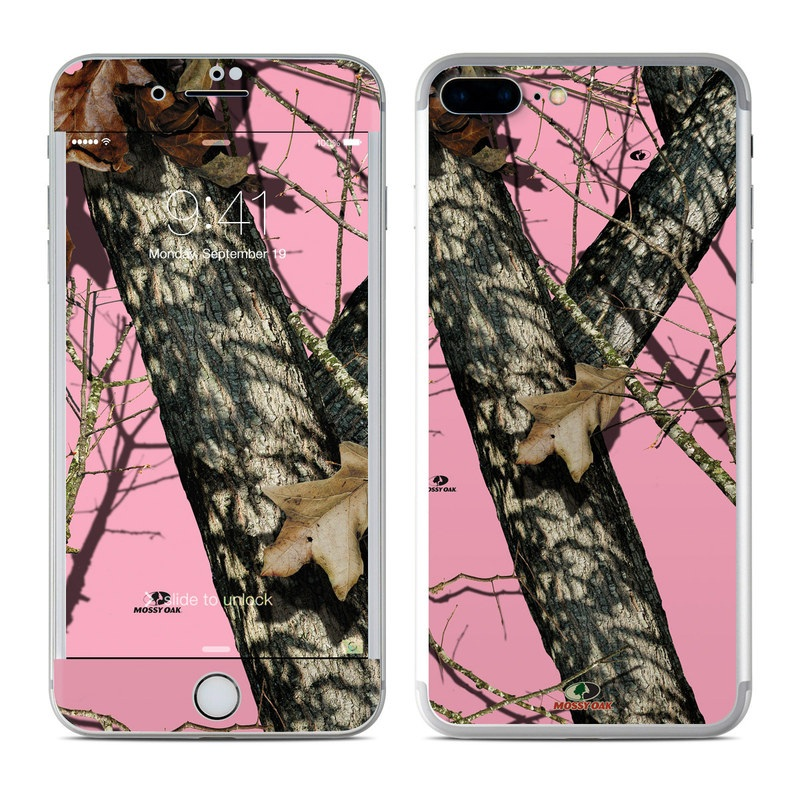 iPhone 7 Plus Skin design of Tree, Branch, Plant, Wildlife, Woody plant, Tail, Adaptation, Squirrel, Trunk, Plant stem with pink, black, gray, green, red, purple colors