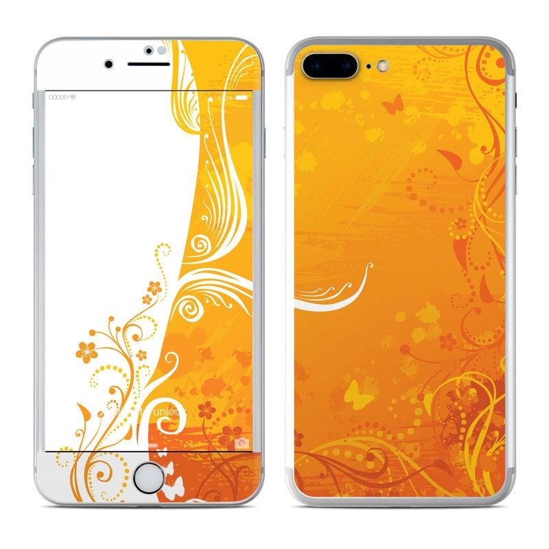 Orange Crush iPhone 7 Plus Skin