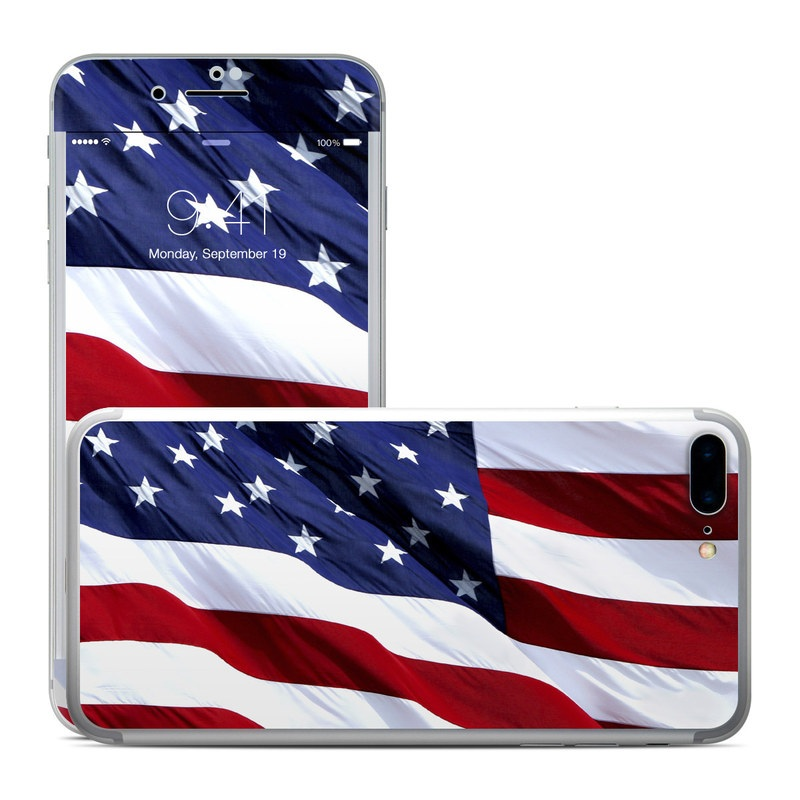 Patriotic iPhone 7 Plus Skin