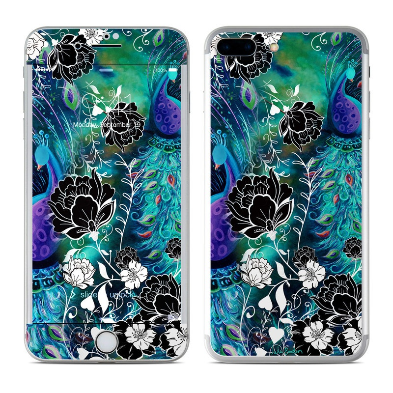 Peacock Garden iPhone 7 Plus Skin