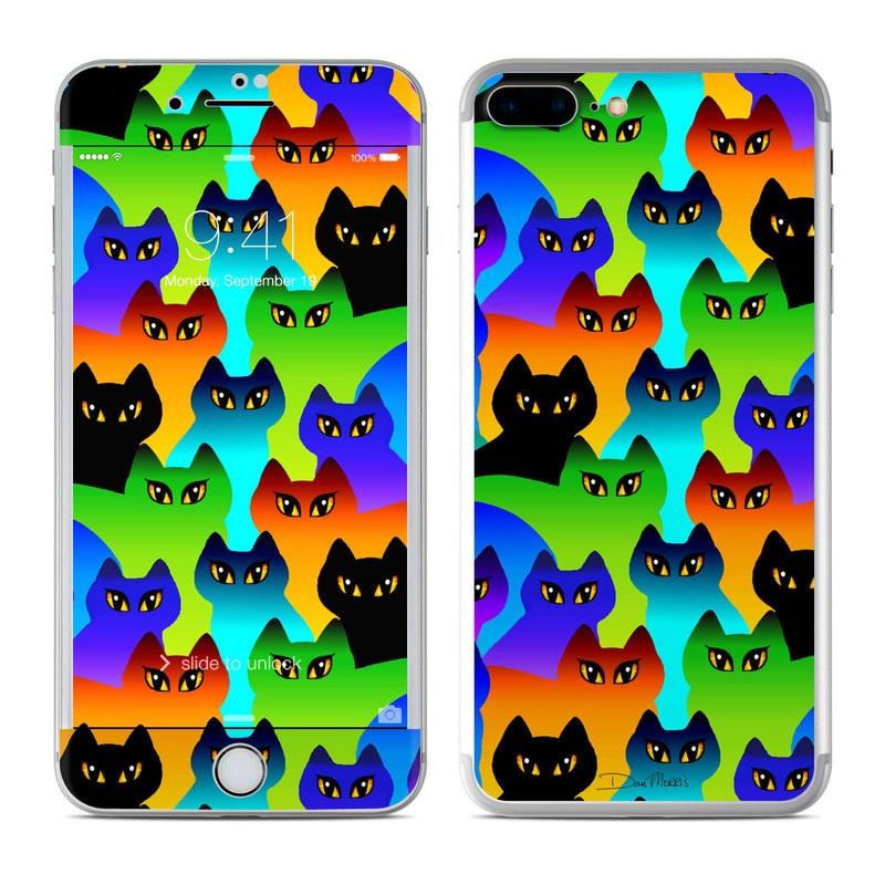 Rainbow Cats iPhone 7 Plus Skin
