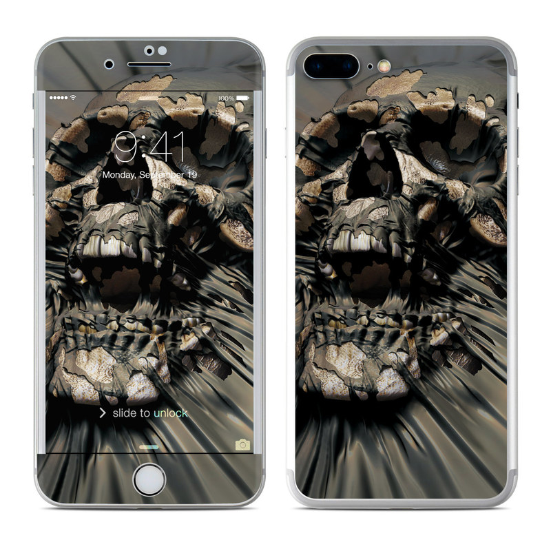 Skull Wrap iPhone 7 Plus Skin