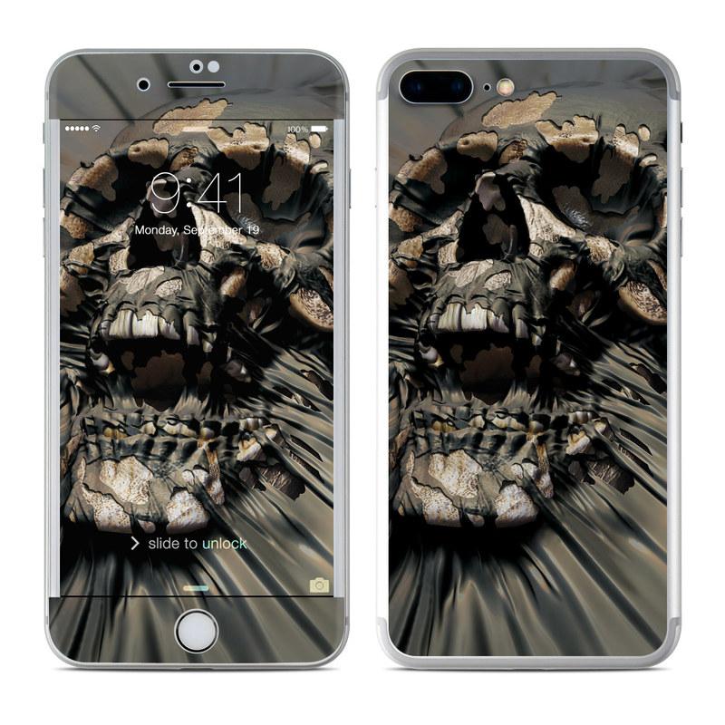 Skull Wrap iPhone 7 Plus Skin
