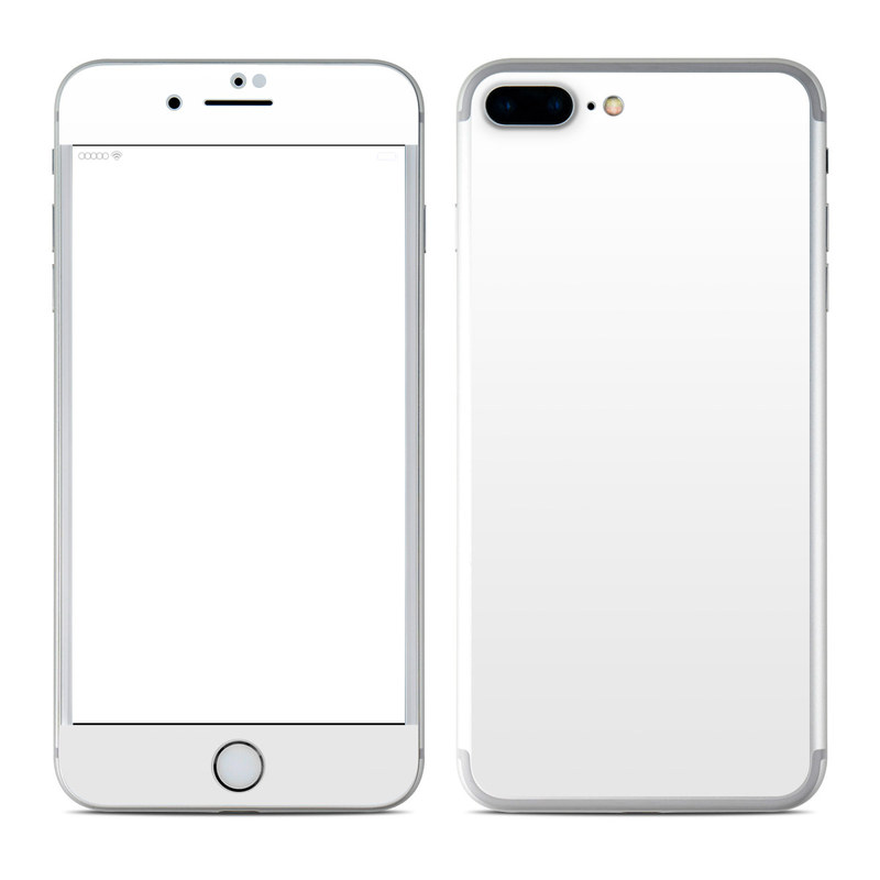 Solid State White iPhone 7 Plus Skin
