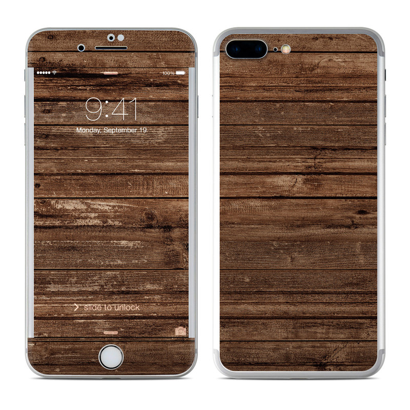 Stripped Wood iPhone 7 Plus Skin