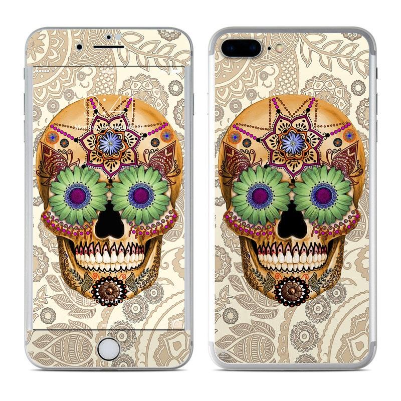 Sugar Skull Bone iPhone 7 Plus Skin