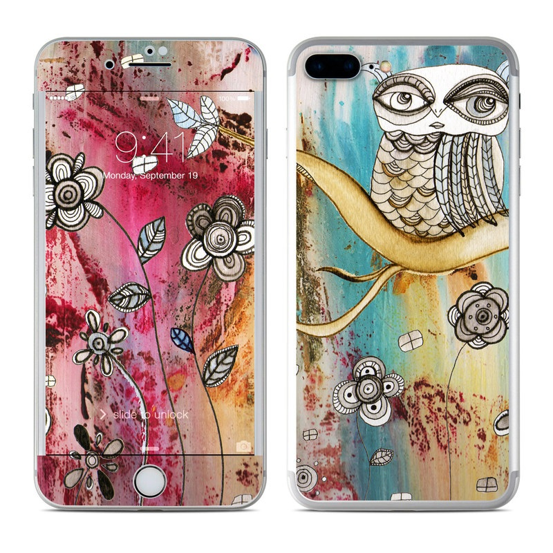 Surreal Owl iPhone 7 Plus Skin