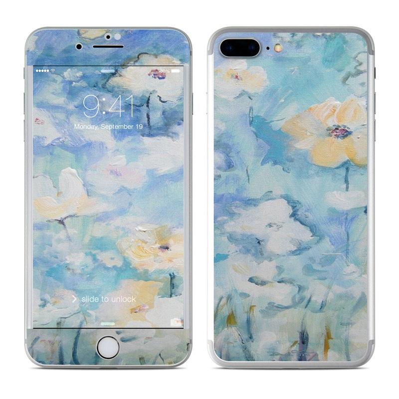 White & Blue iPhone 7 Plus Skin