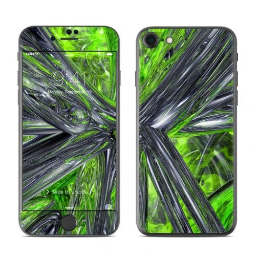 Emerald Abstract iPhone 8 Skin