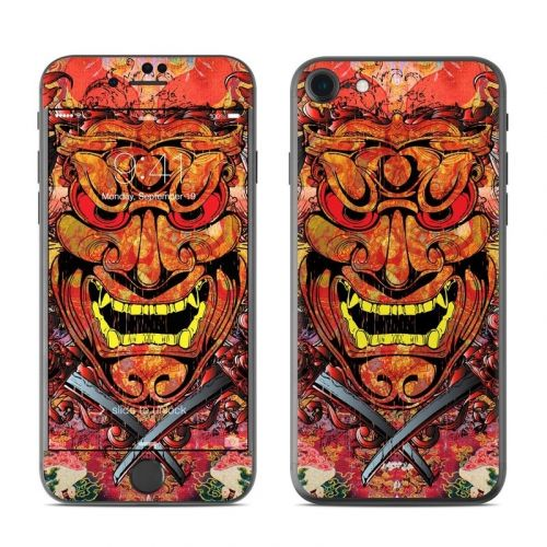 Asian Crest iPhone 8 Skin