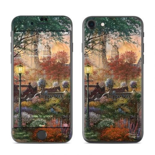 Autumn in New York iPhone 8 Skin