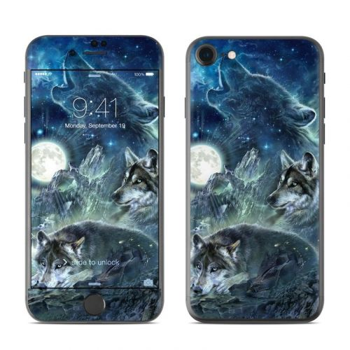Bark At The Moon iPhone 8 Skin