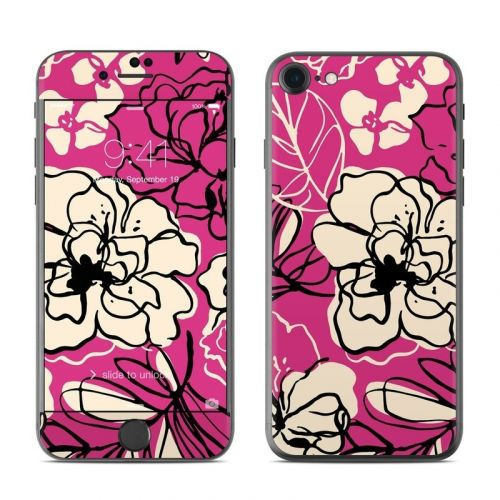 Black Lily iPhone 8 Skin