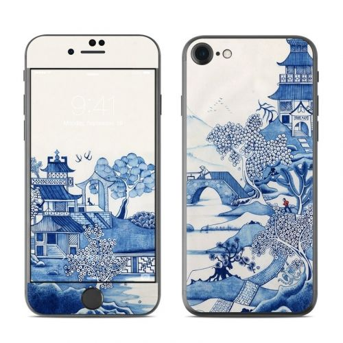 Blue Willow iPhone 8 Skin