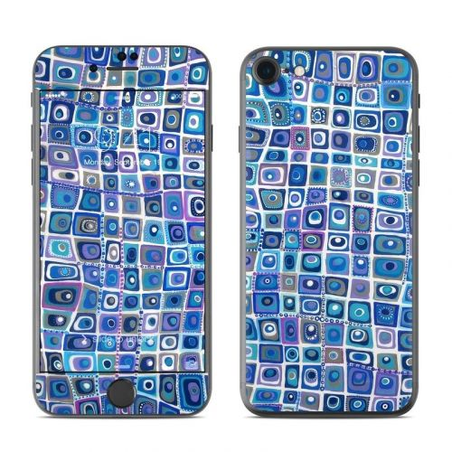 Blue Monday iPhone 8 Skin