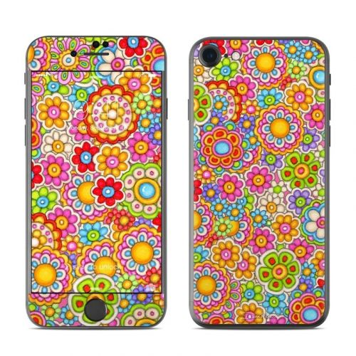 Bright Ditzy iPhone 8 Skin