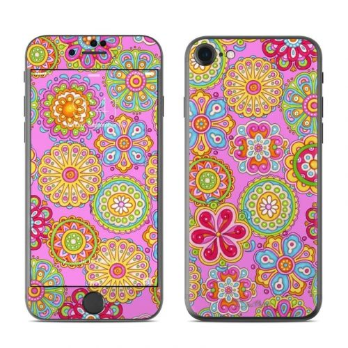 Bright Flowers iPhone 8 Skin