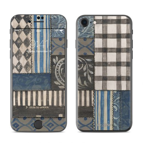 Country Chic Blue iPhone 8 Skin