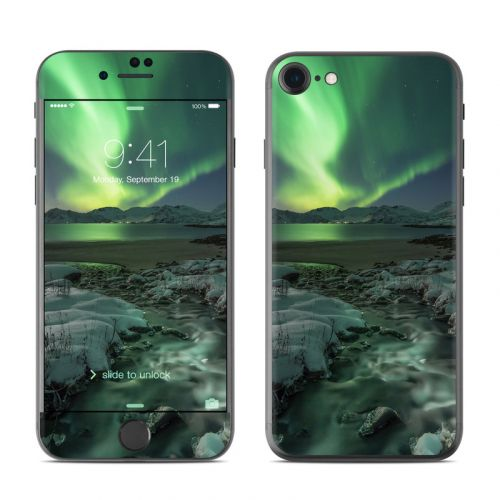 Chasing Lights iPhone 8 Skin