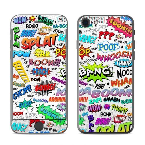 Comics OtterBox Symmetry iPhone 8 Case Skin | iStyles