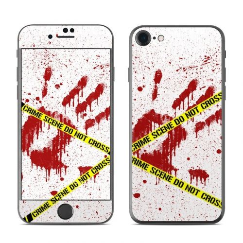 Crime Scene Revisited iPhone 8 Skin