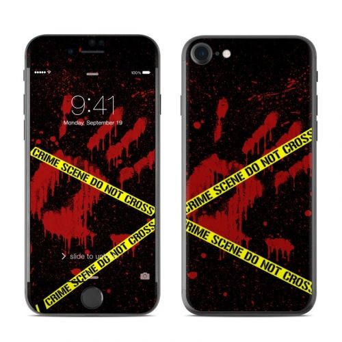 Crime Scene iPhone 8 Skin
