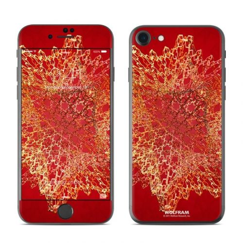Dodecahedron Cage iPhone 8 Skin