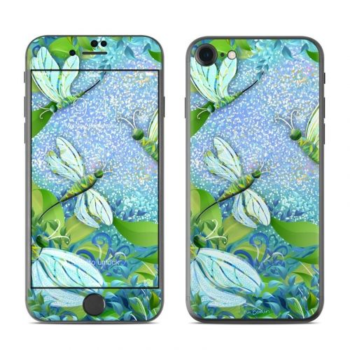 Dragonfly Fantasy iPhone 8 Skin