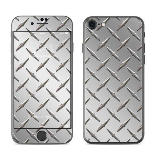 Diamond Plate iPhone 8 Skin