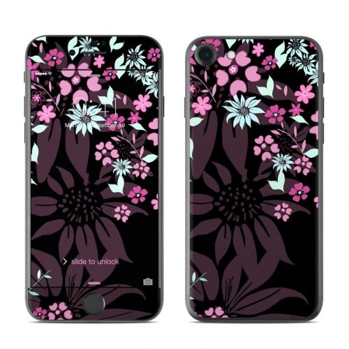 Dark Flowers iPhone 8 Skin