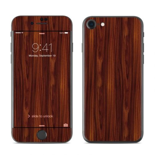 Dark Rosewood iPhone 8 Skin
