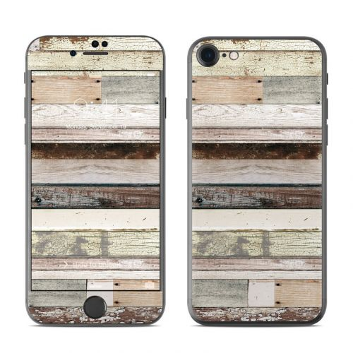 Eclectic Wood iPhone 8 Skin