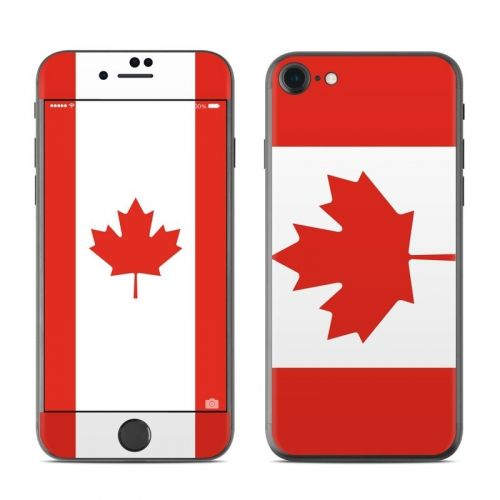 Canadian Flag iPhone 8 Skin