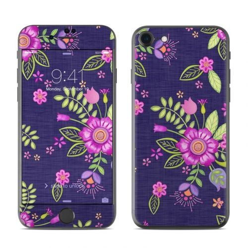 Folk Floral iPhone 8 Skin