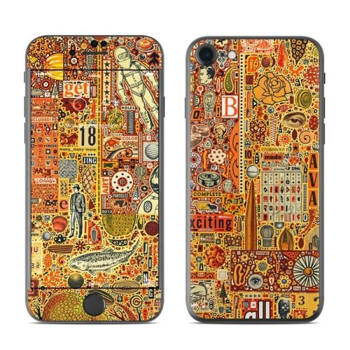 The Golding Time iPhone 8 Skin
