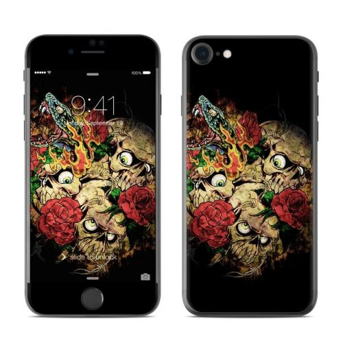Gothic Tattoo iPhone 8 Skin