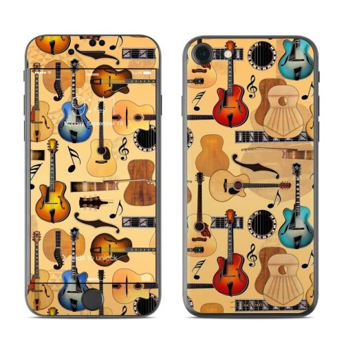 Guitar Collage iPhone 8 Skin