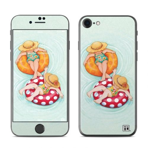 Inner Tube Girls iPhone 8 Skin