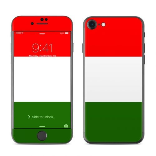 Italian Flag iPhone 8 Skin