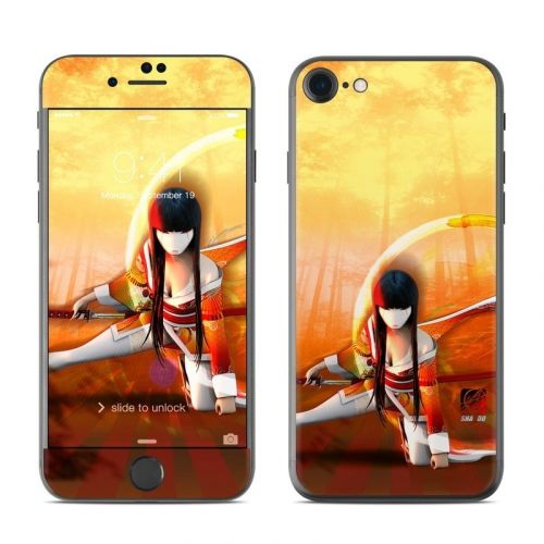 Kokeshi 4 iPhone 8 Skin