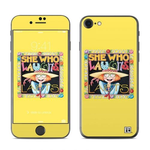 She Who Laughs iPhone 8 Skin