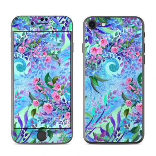 Lavender Flowers iPhone 8 Skin
