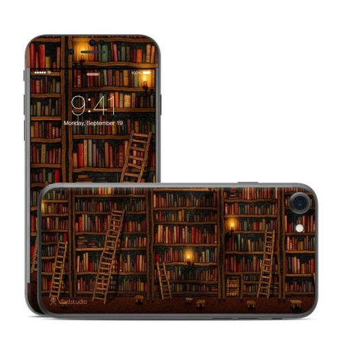 Library iPhone 8 Skin