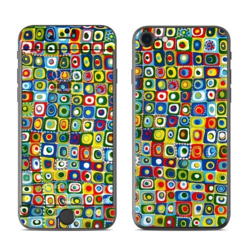 Line Dancing iPhone 8 Skin