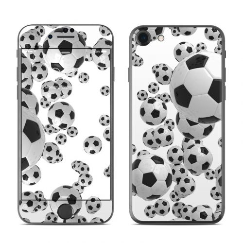 Lots of Soccer Balls iPhone 8 Skin