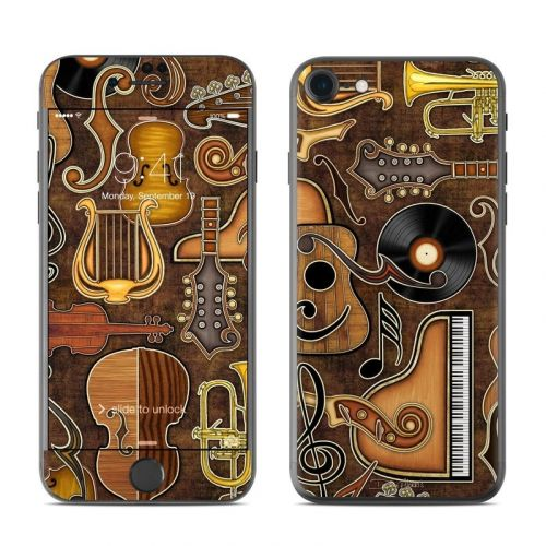 Music Elements iPhone 8 Skin