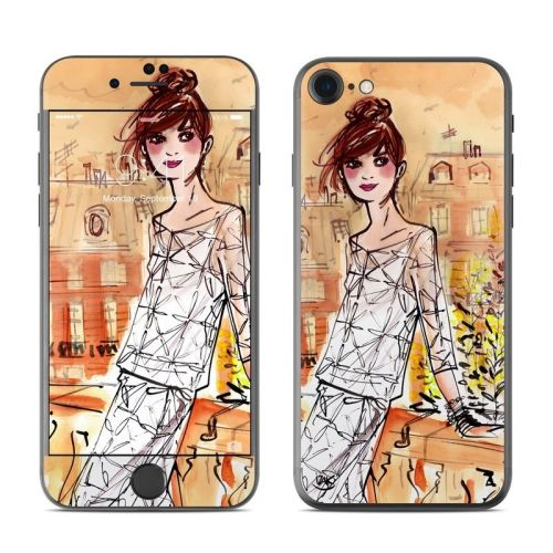Mimosa Girl iPhone 8 Skin